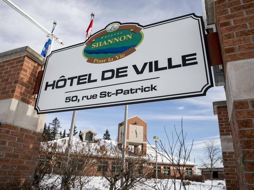 Affiche de l'hôtel de ville de Shannon