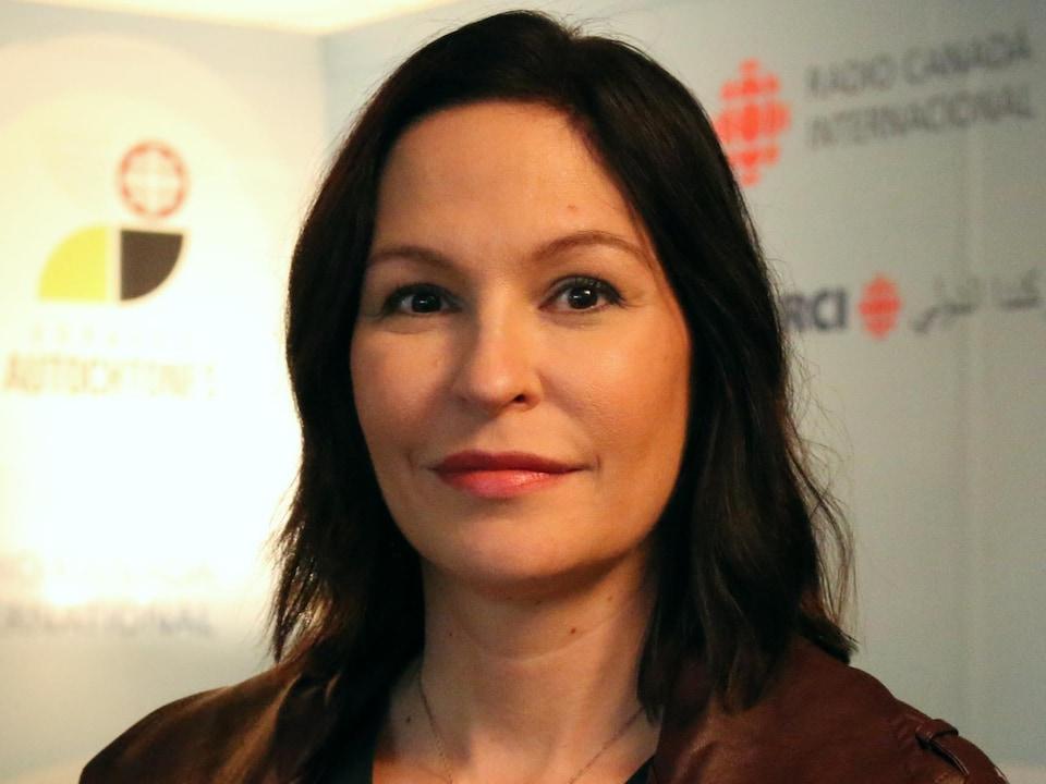 Isabelle Picard, chroniqueuse à Espaces autochtones en direct
