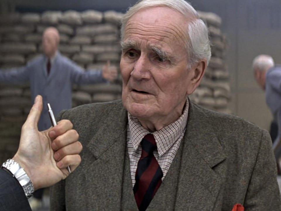 L'acteur britannique Desmond Llewelyn.