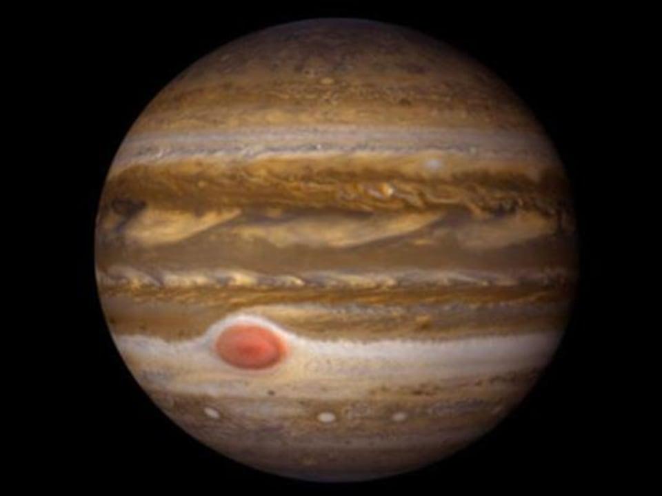 Image de la planète Jupiter.