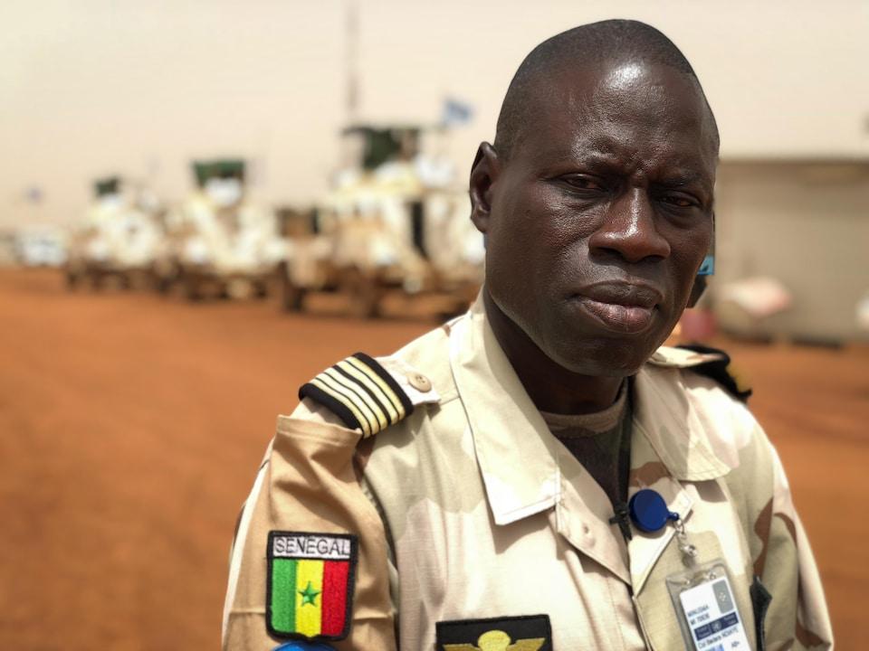 Le Colonel Badara Ndiaye
