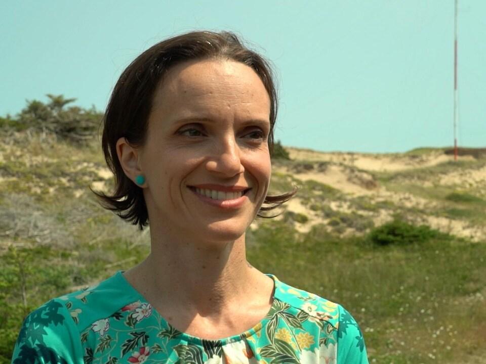 Marianne Papillon, présidente de l'AMSÉE
