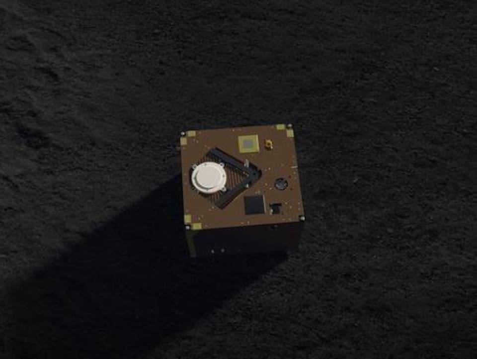 Le robot dans l'espace.