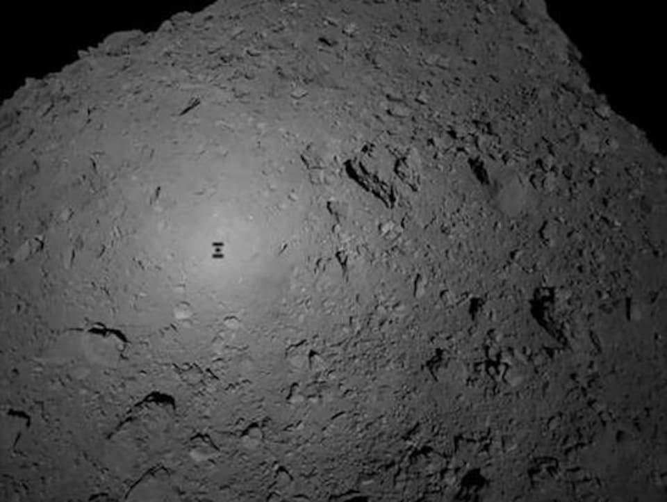 Le furtif baiser d'une sonde japonaise à un astéroïde