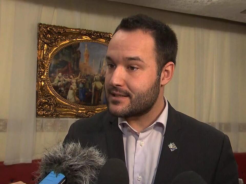 Mathieu Lacombe, ministre de la Famille