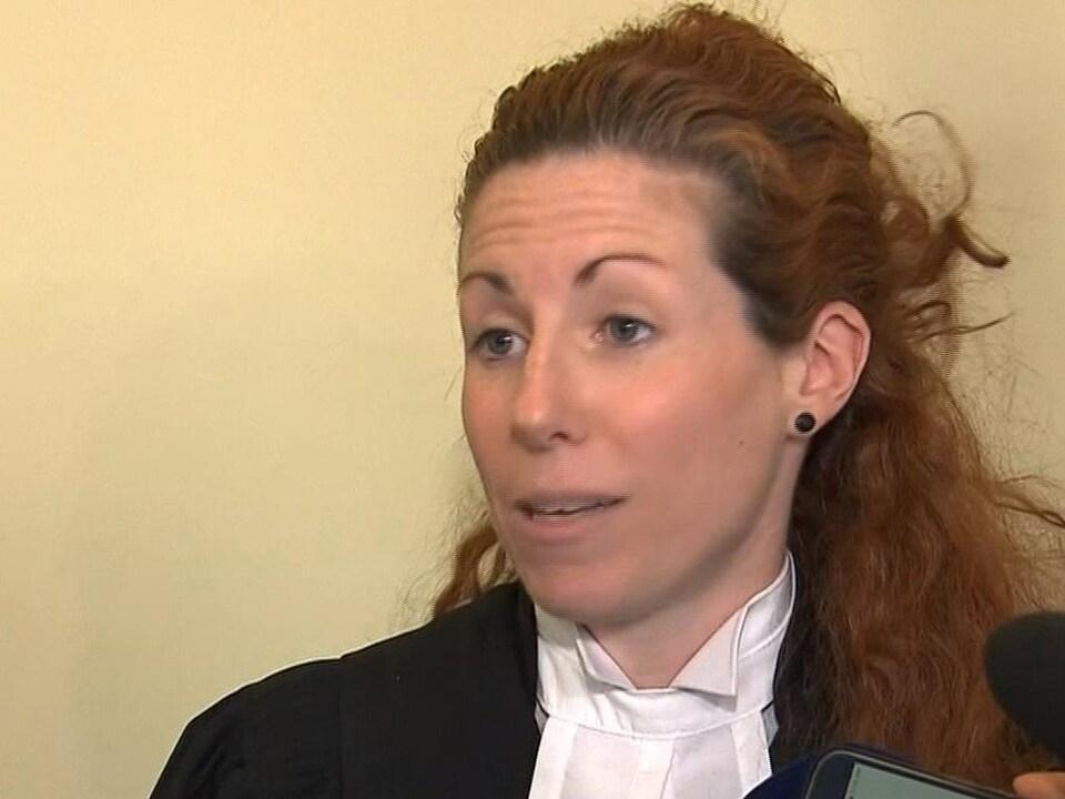 Me Caroline Lalfeur, procureure de la Couronne au procès de Bertrand Charest