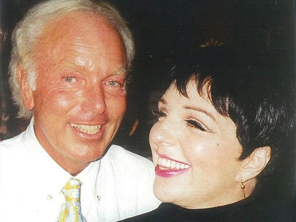 Michel Girouard et Liza Minelli.