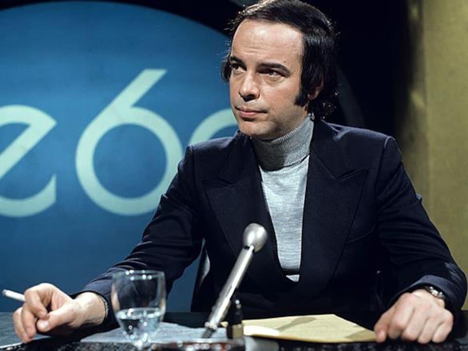Pierre Nadeau au magazine « Le 60 » en 1973.
