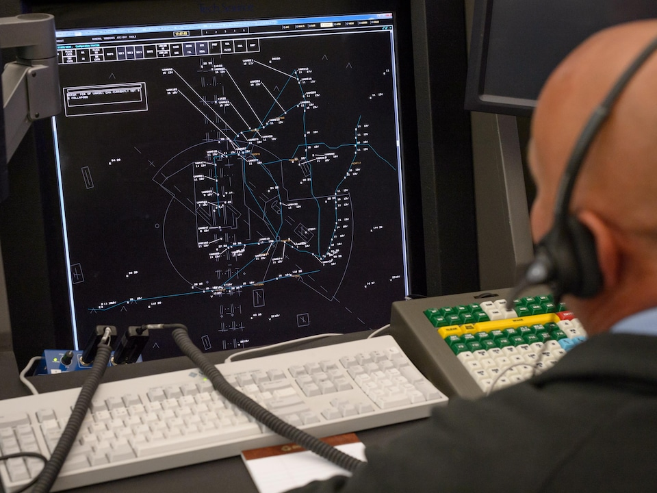 L'un des contrôleurs du projet de gestion aérienne de la NASA.