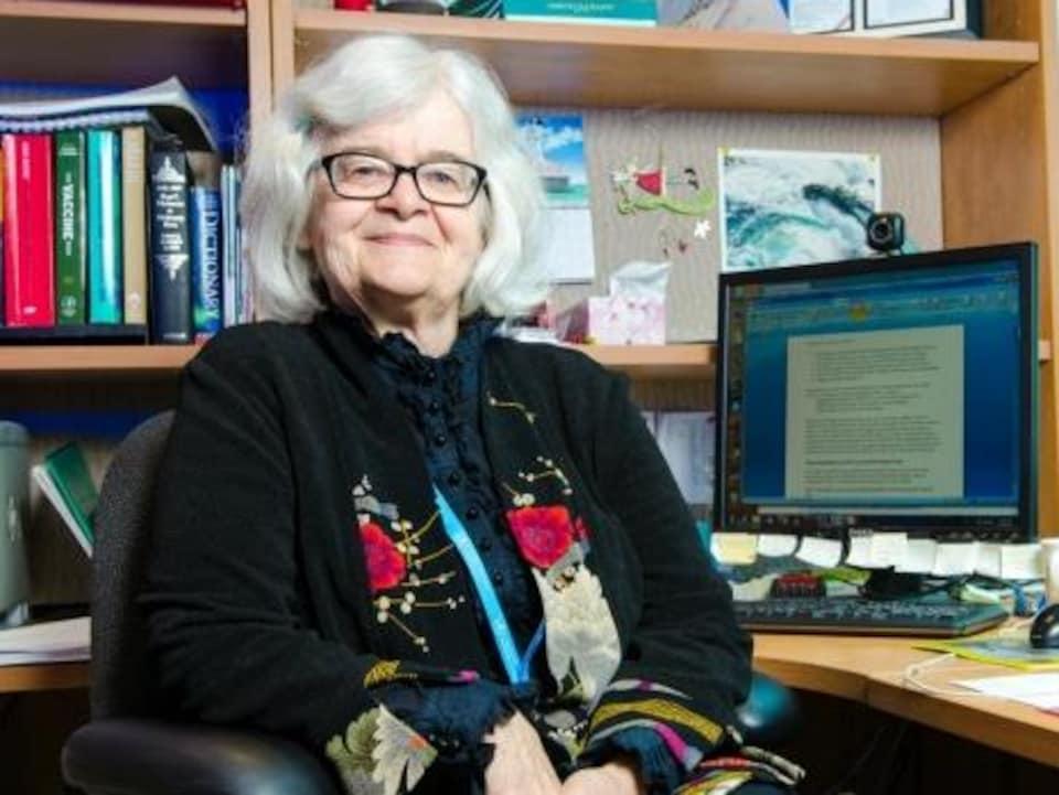 Docteur Noni MacDonald, professeure au Département de pédiatrie (maladies infectieuses) à l'Université Dalhousie, à Halifax, en Nouvelle-Écosse.
