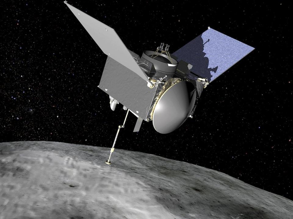Le vaisseau spatial Security-Regolith Explorer (OSIRIS-REx)