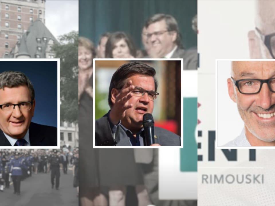 Le maire sortant de Québec, Régis Labeaume