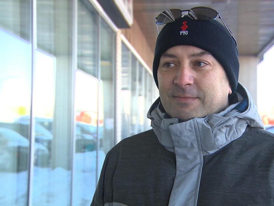 Le conseiller de la FTQ sur la Côte-Nord, Pascal Langlois