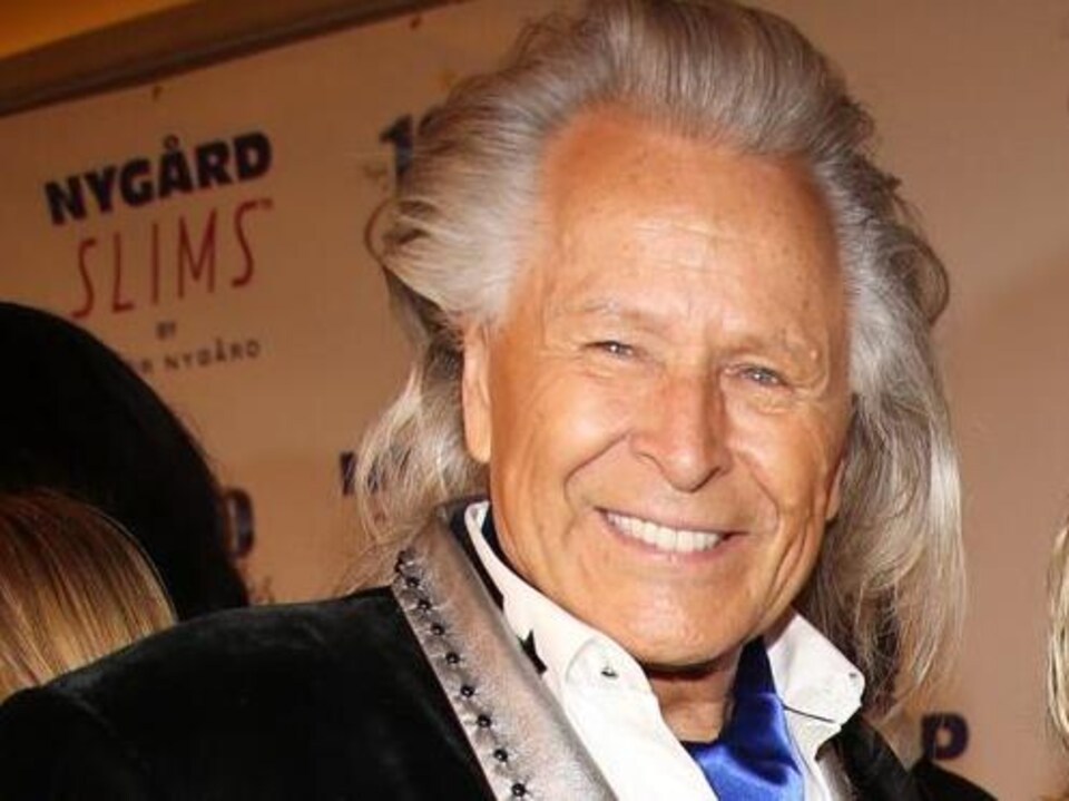 Peter Nygard, souriant.