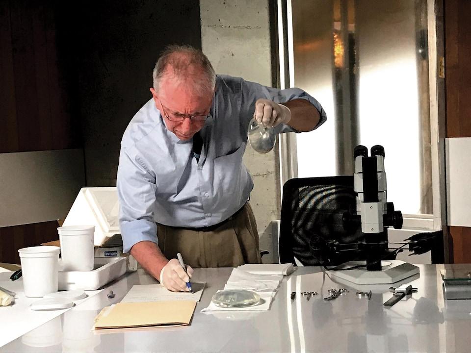 Le chimiste Pierre Blais