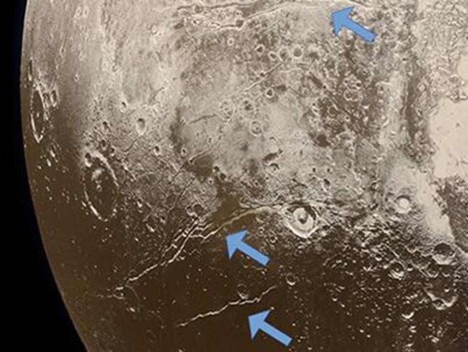Image de la surface de Pluton.