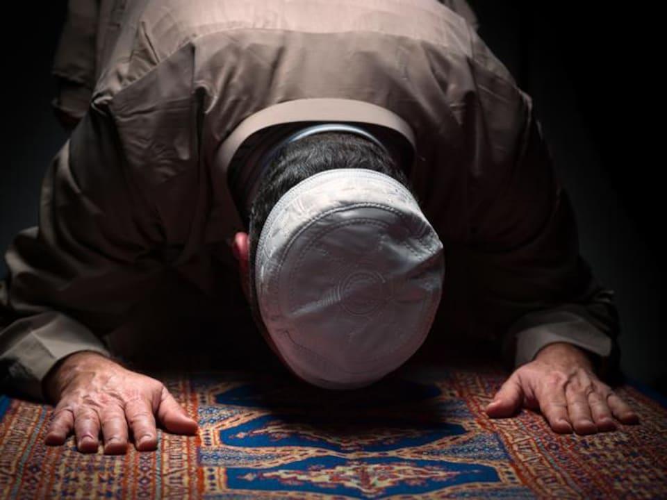 Prière musulmane.