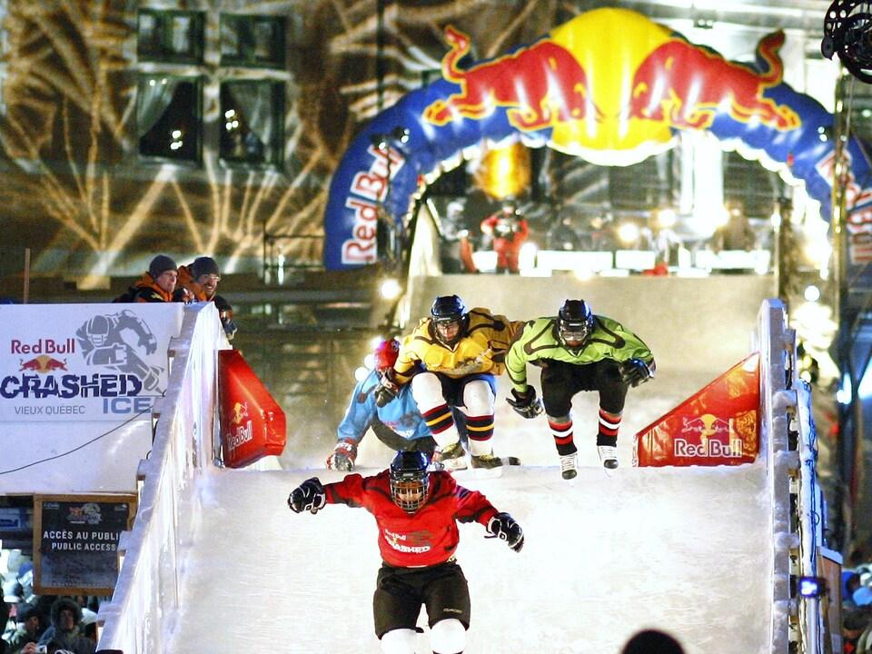 Une compétition organisée par Red Bull à Québec