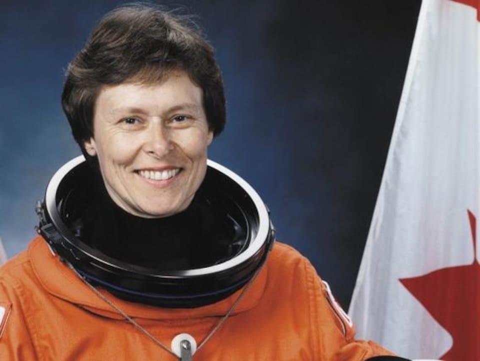 L'astronaute Roberta Bondar en 1992.