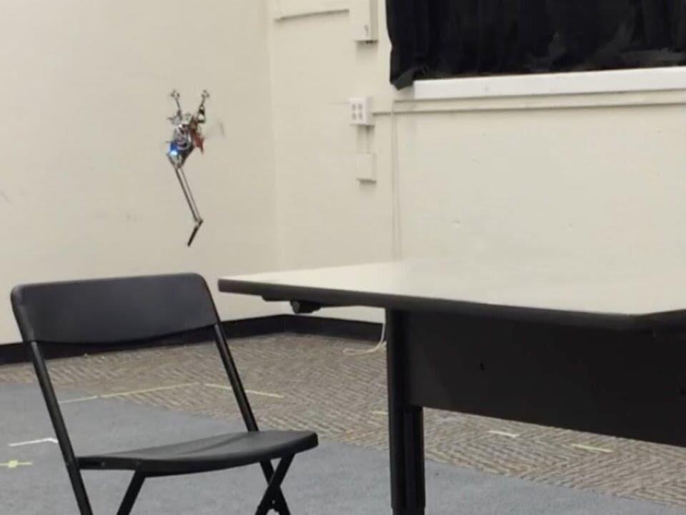 Le robot Salto-1P.