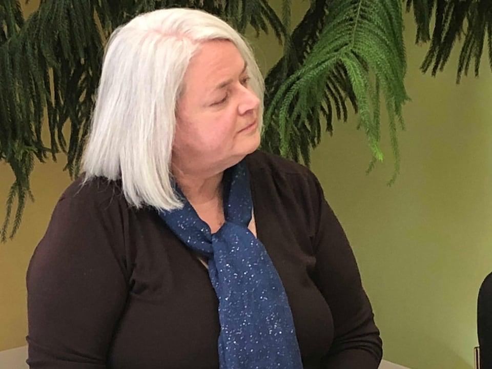 Cynthia Dow, présidente du Groupe de travail sur la santé mentale et le mieux-être