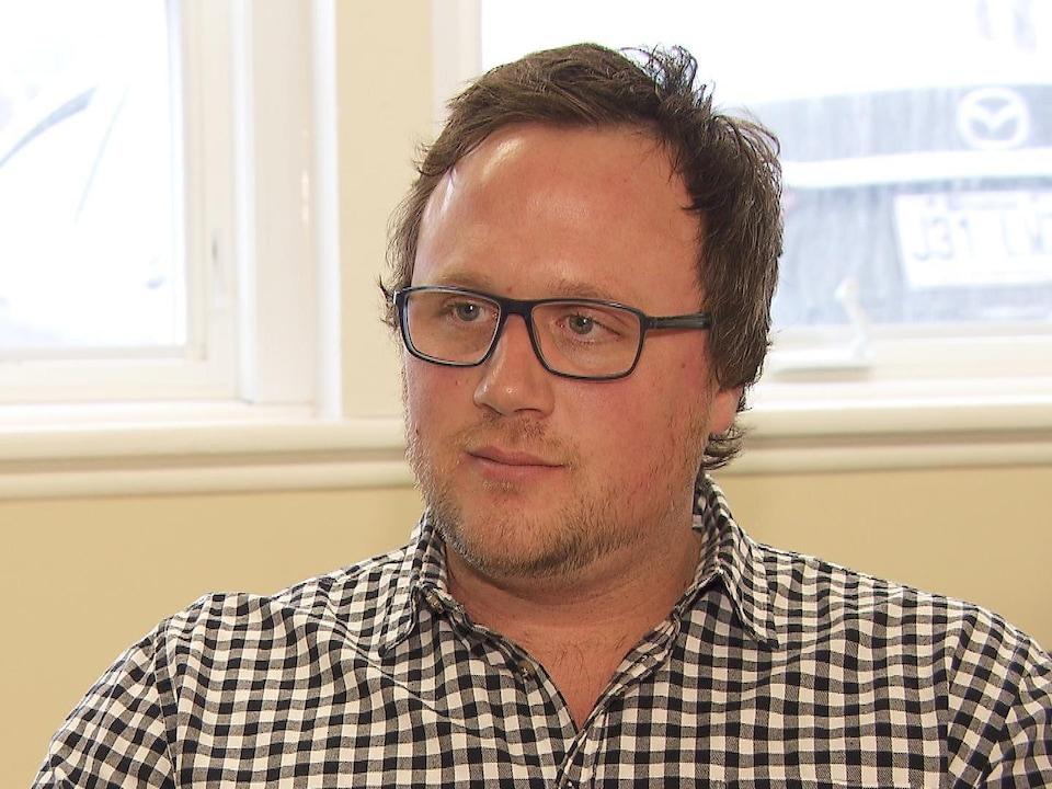 Simon Riopel, vice-président à la direction chez Groupe Maritime Verreault