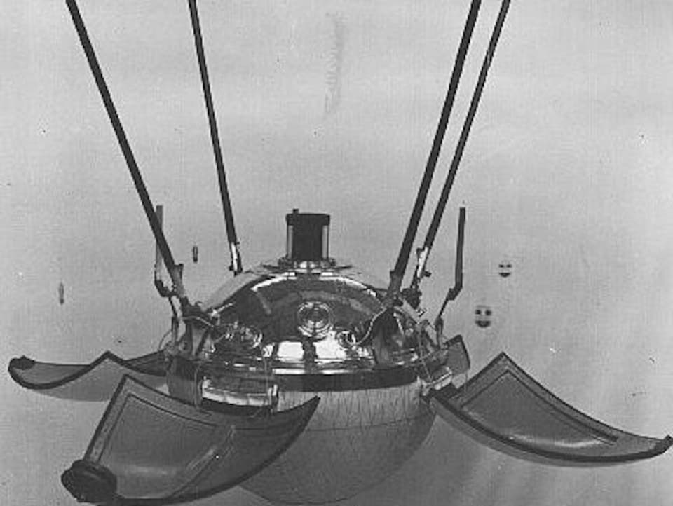La sonde soviétique Lunik 9