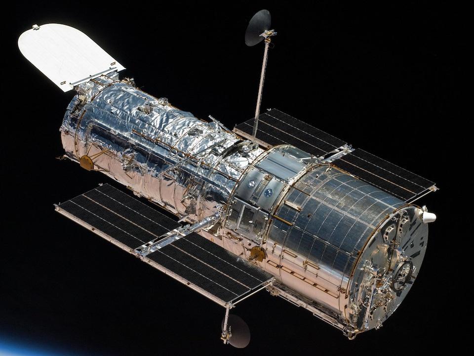Vue d'ensemble du télescope.