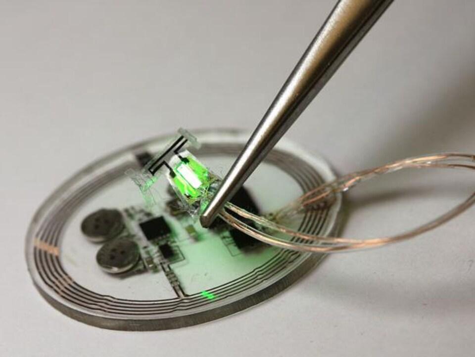 Un implant souple et sans fil permet de contrôler l'envie d'uriner.