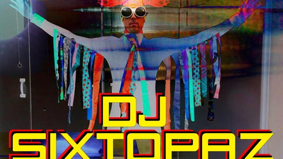 Photo colorée du DJ Sixtopaz de Québec