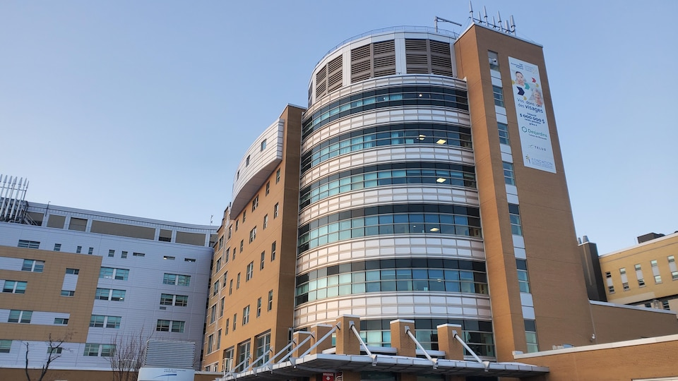 L'Hôpital de Rimouski.