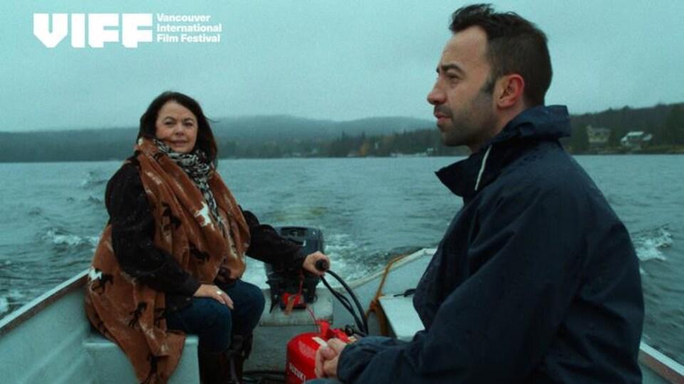 Louise Portal et Ahmed Muslimani dans le film «Everything Outside» de David Findlay