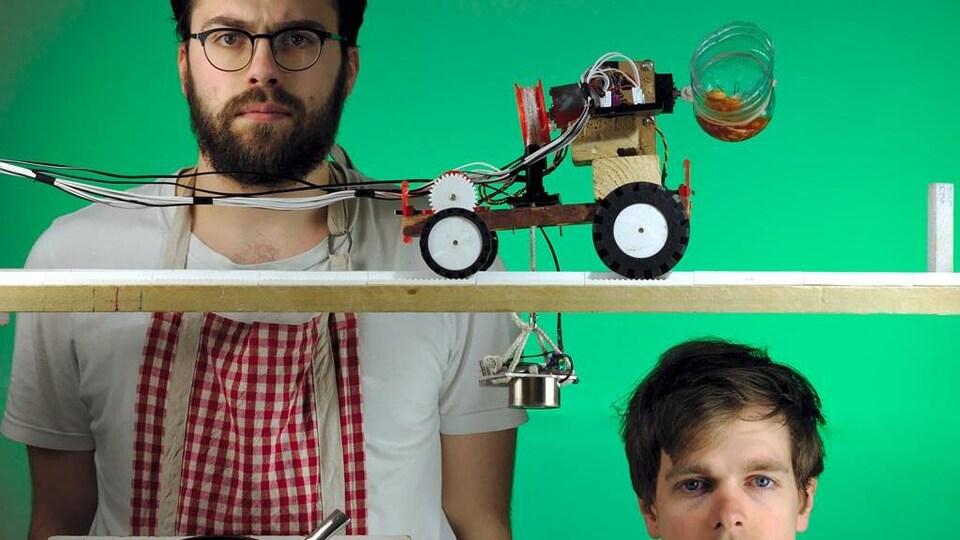 Le duo Foxdog Studios (Royaume-Uni) et le projet Robot Chef