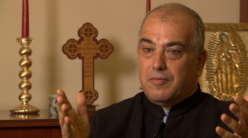 Le père Abdo Abou Kassam, du Centre d'information catholique du Liban