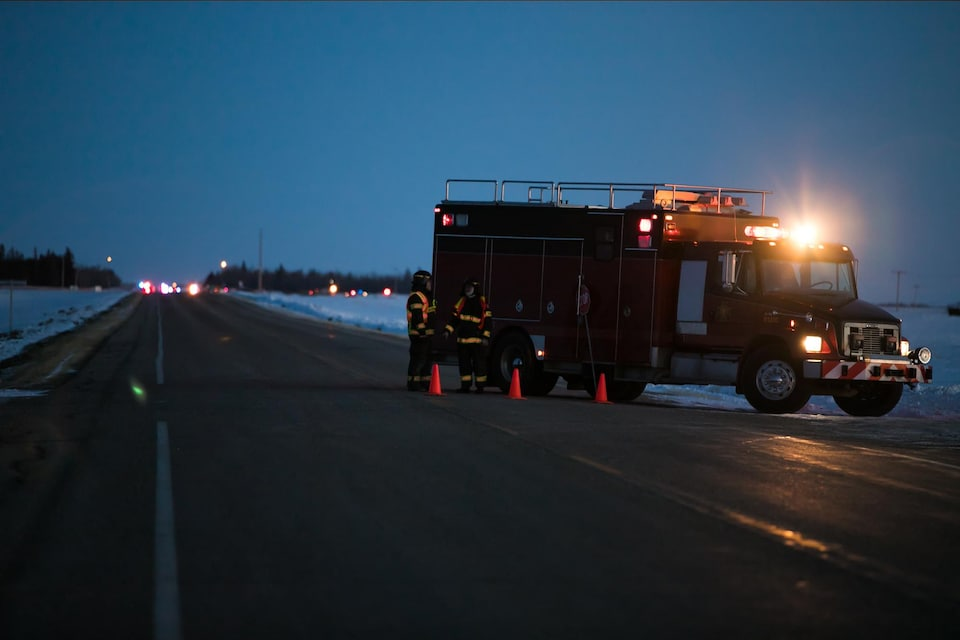 Selon la GRC, un autobus transportant les joueurs des Broncos de Humboldt, une équipe de hockey junior, a fait l'objet d'un accident de la route mortel au sud de Nipawin, en Saskatchewan.