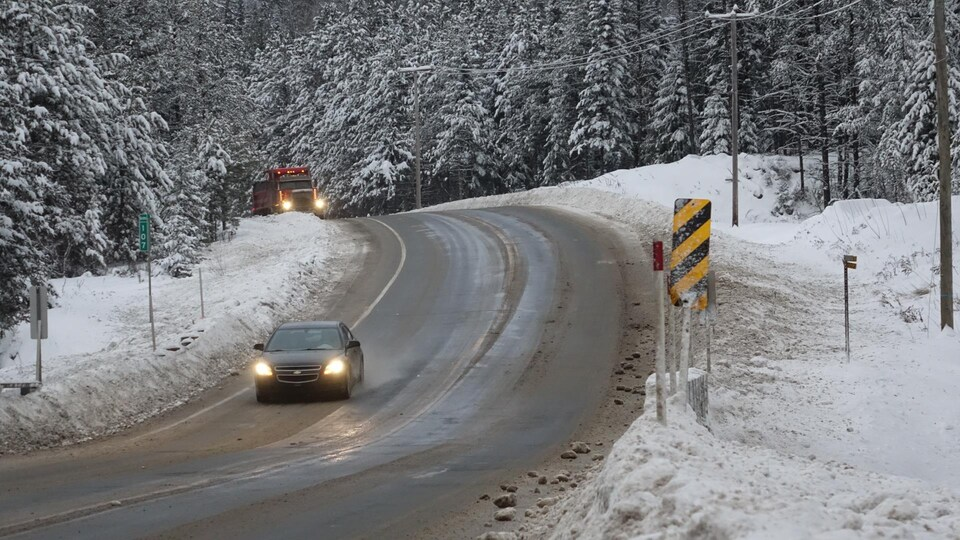L'accident qui a coûté la vie à une mère et sa fille a eu lieu au kilomètre 107 sur la route 155.