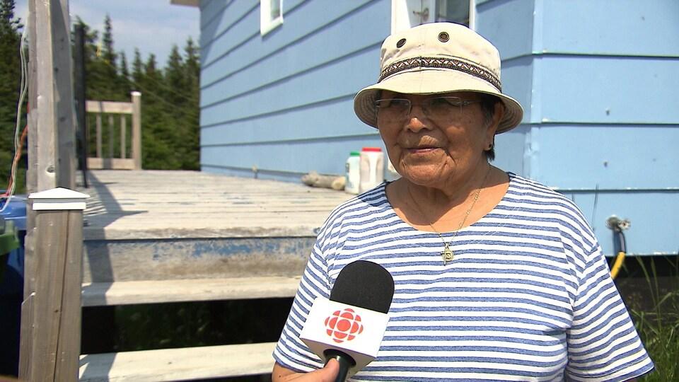 Adèle Bellefleur est revenue là où elle est née pour vivre sa retraite.