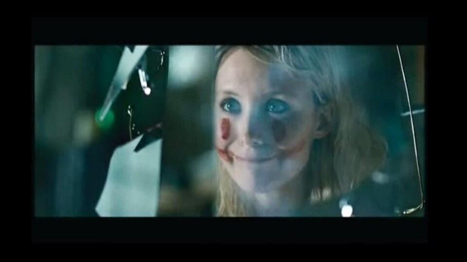 Une scène tirée du film «Borderline», adapté des romans de Marie-Sissi Labrèche «Borderline» et «La brèche», avec Isabelle Blais.
