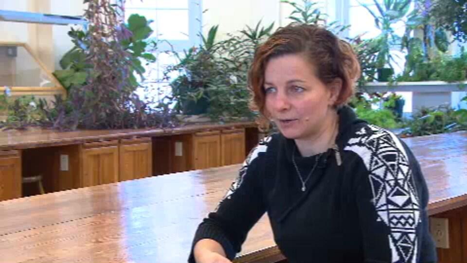 Agathe Vialle, directrice scientifique à Biopterre