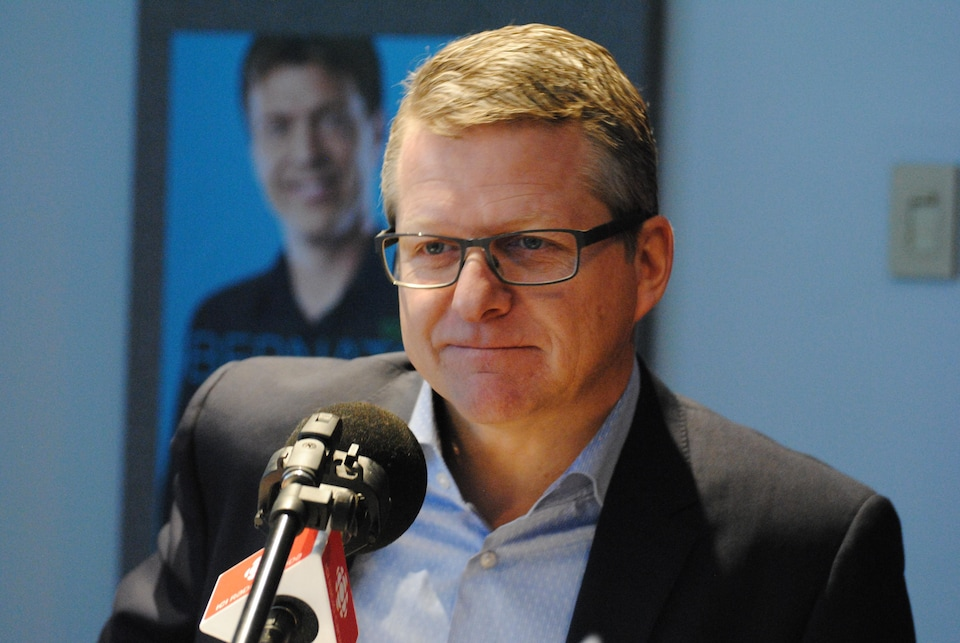 Alain April, le président du conseil d'administration du Carnaval de Québec.