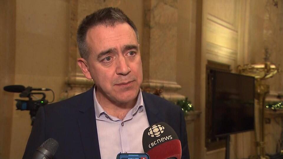 Alex Norris en entrevue