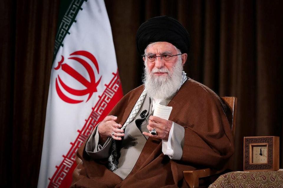 L'ayatollah Ali Khamenei, guide suprême d'Iran