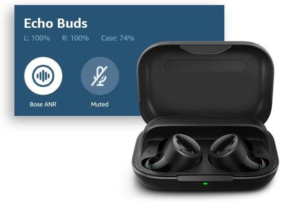 Les Echo Buds, les écouteurs sans fil d'Amazon.
