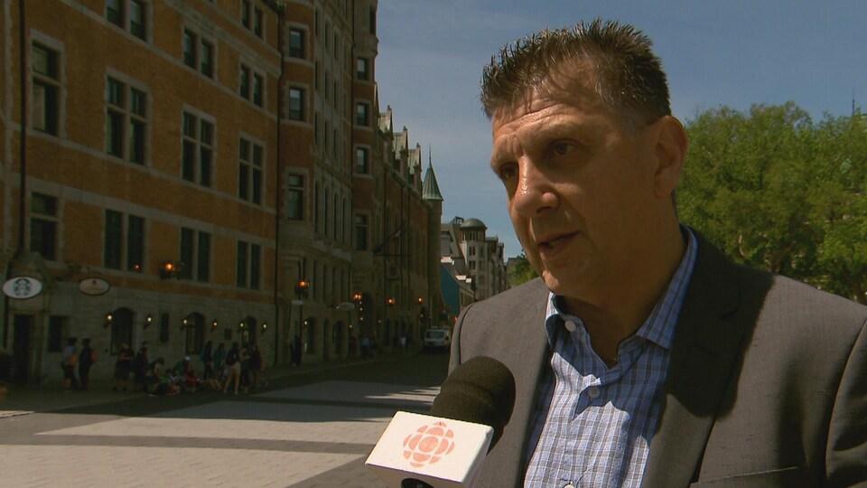 André Roy, directeur général de l'Office de tourisme de Québec