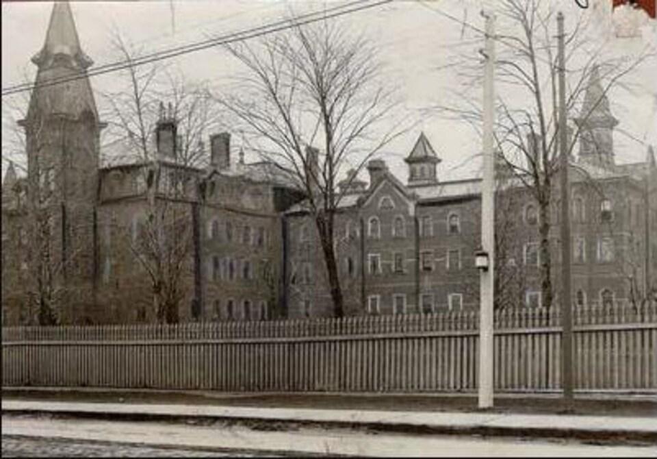 Photo d'Archives montrant un ancien centre de détention.