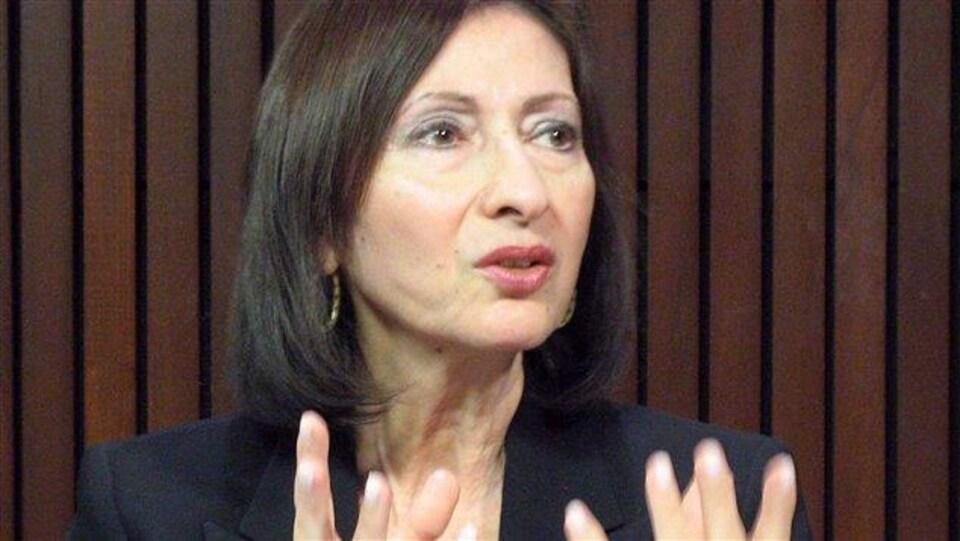 Ann Cavoukian, ancienne à l'information et à la protection de la vie privée de l'Ontario