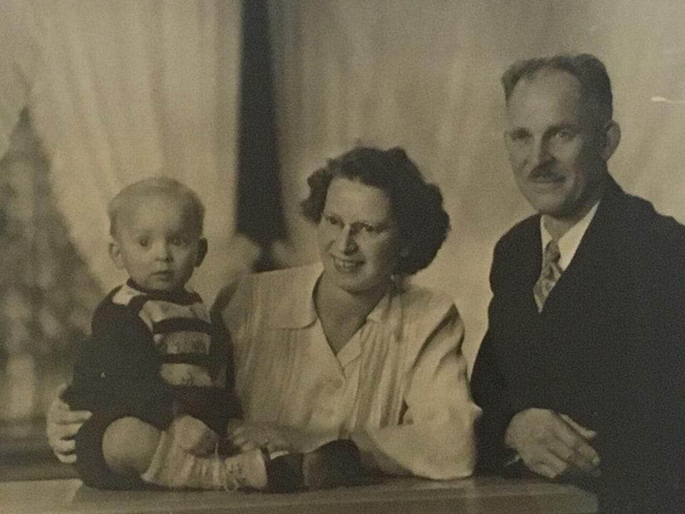 Une photo en noir et blanc.