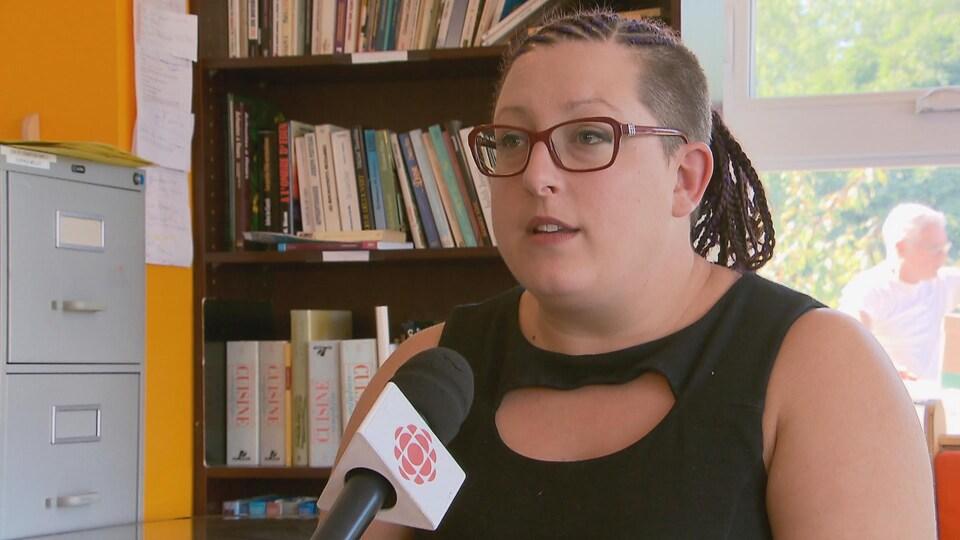 Annie Côté-Leroux, membre du conseil d'administration de l'Espace Mélilot