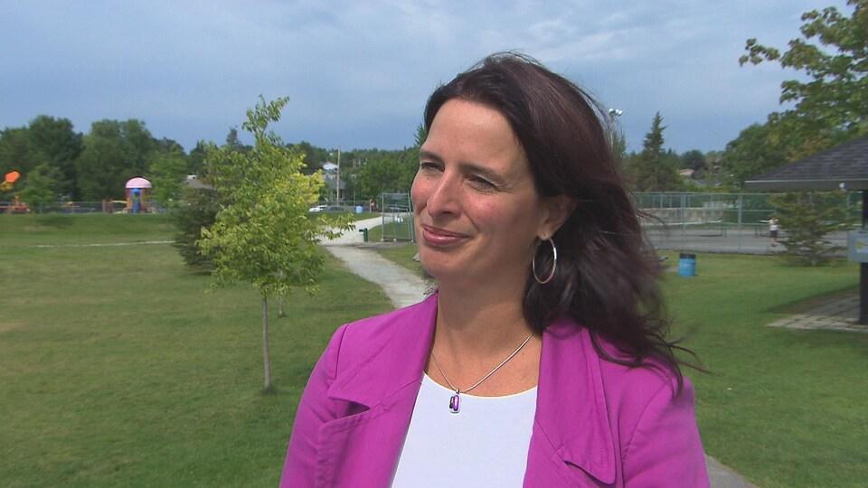 La conseillère municipale Annie Godbout