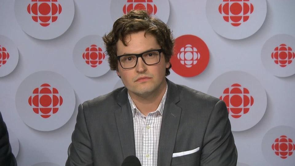 Antoine Trépanier, journaliste de Radio-Canada à Ottawa-Gatineau.